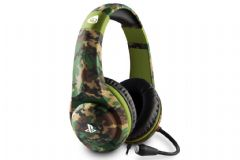 4Gamers PRO4-70CAMO Officially Licensed Stereo Gaming Woodland Headset for PS4